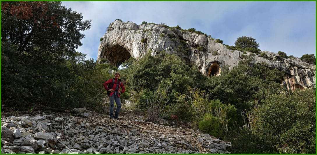 L'Arche de Frèguié par le Vallon de Combrès
