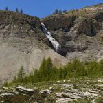 Cascade du Lac de Lignin