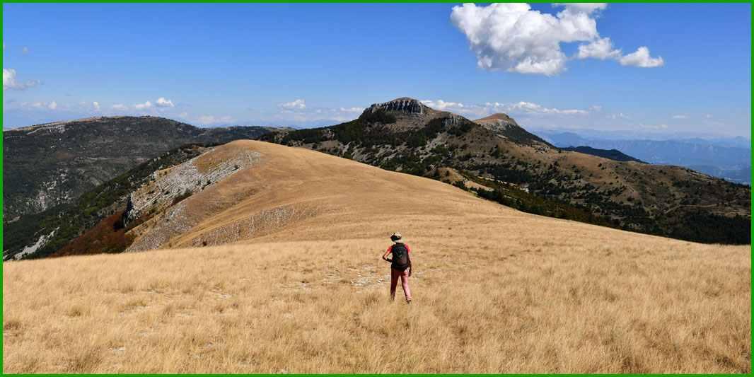 Montagne du pied du mulet