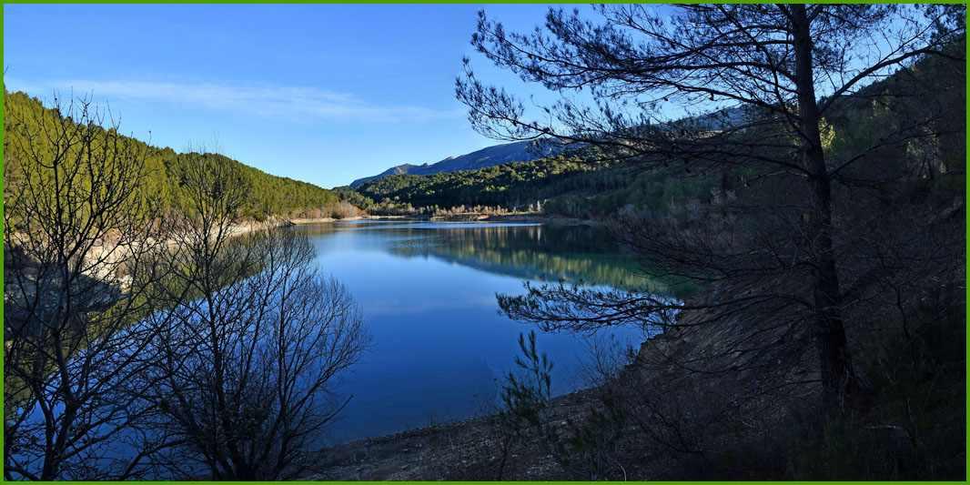 Tour du lac du Bimont